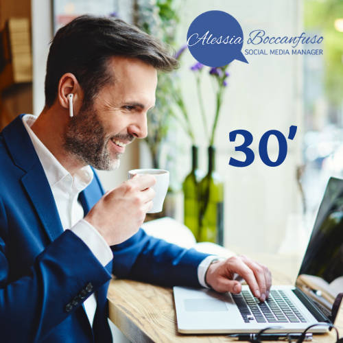 Consulenza gratuita 30 minuti con Alessia Boccanfuso _consulente social media marketing